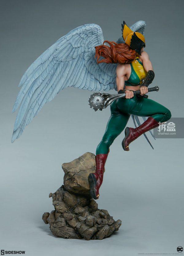 Sideshow DC超級英雄 Hawkgirl鷹女 22寸PF雕像 8