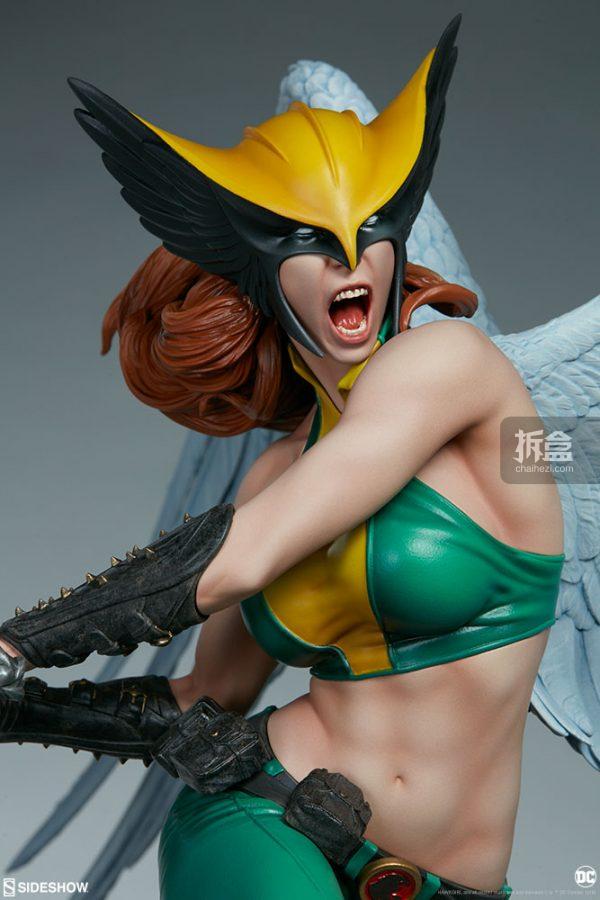 Sideshow DC超級英雄 Hawkgirl鷹女 22寸PF雕像 11
