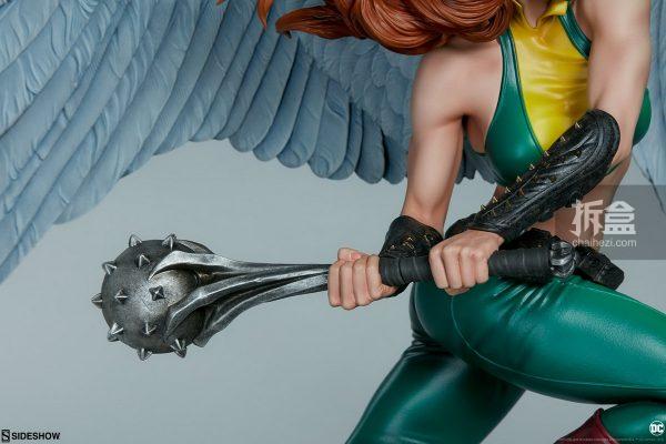 Sideshow DC超級英雄 Hawkgirl鷹女 22寸PF雕像 13