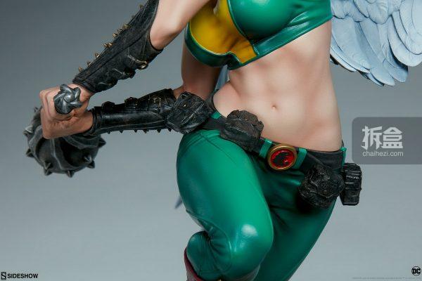 Sideshow DC超級英雄 Hawkgirl鷹女 22寸PF雕像 14