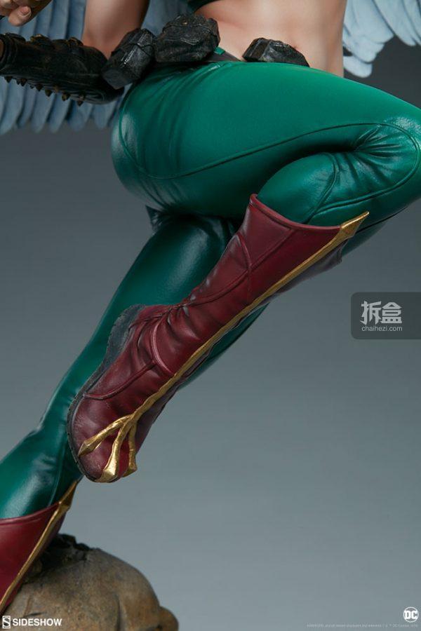 Sideshow DC超級英雄 Hawkgirl鷹女 22寸PF雕像 15
