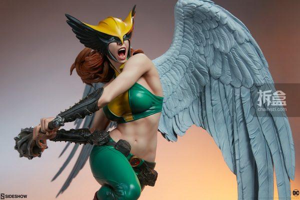 Sideshow DC超級英雄 Hawkgirl鷹女 22寸PF雕像 19