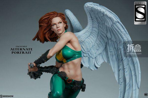 Sideshow DC超級英雄 Hawkgirl鷹女 22寸PF雕像 23