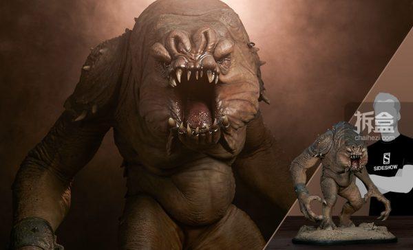 Sideshow《星球大戰》怪獸 Rancor蘭苛 29寸豪華雕像 1